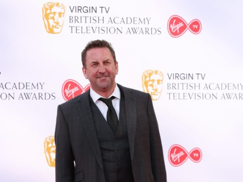 Lee Mack is filming the latest series of Not Going Out (Isabel Infantes/PA)