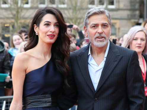 George and Amal Clooney have made major donations to three Lebanese charities after capital Beirut was rocked by a deadly explosion (Andrew Milligan/PA)