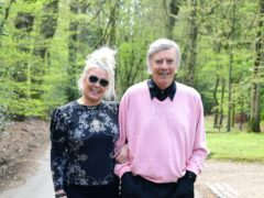 Kim Wilde and her father, Marty Wilde (Ian West/PA)