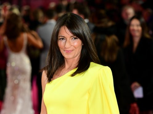Davina McCall has said she is happier than ever (Ian West/PA)