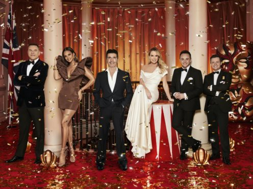 The Britain's Got Talent judges and hosts (ITV/PA)