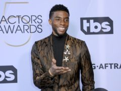 The MTV Video Music Awards opened with a tribute to Chadwick Boseman, following the Black Panther star's death aged 43 (Willy Sanjuan/Invision/AP, File)