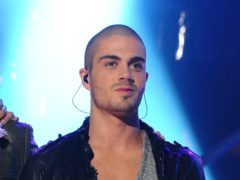 Max George from The Wanted (Ian West/{PA)