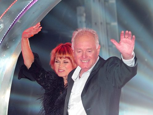 Vicky Entwistle and Bruce Jones (Ian West/PA)