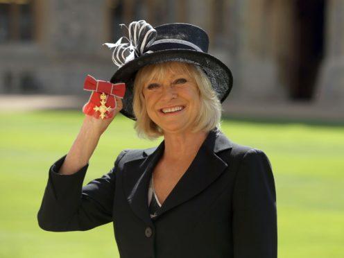 TV presenter Sue Barker (Steve Parsons/PA)