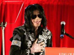 Michael Jackson (Yui Mok/PA)