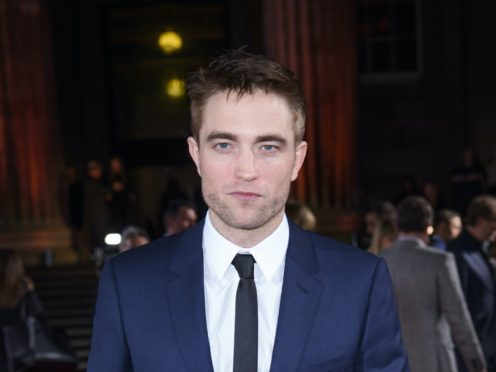 Robert Pattinson stars as Batman (Matt Crossick/PA)