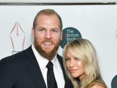 Chloe Madeley and James Haskell (John Stillwell/PA)