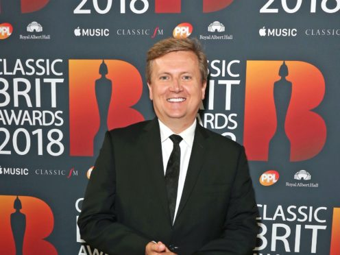 Aled Jones has collaborated with a number of stars for his new album (Isabel Infantes/PA)