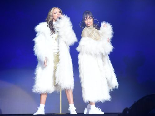 Jade Thirlwall and Leigh-Anne Pinnock of Little Mix (Ian West/PA)