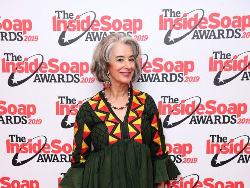 Actress Maureen Lipman has described the new socially distanced way of working on Coronation Street as 'really weird' (Ian West/PA)