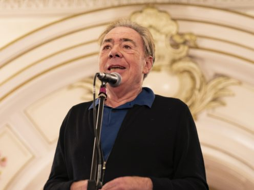 Andrew Lloyd Webber said it is economically 'impossible' to run theatres with social distancing (Giles Anderson/PA)