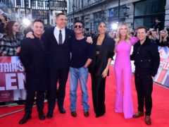 Anthony McPartlin, David Walliams, Simon Cowell, Alesha Dixon, Amanda Holden and Declan Donnelly (Ian West/PA)