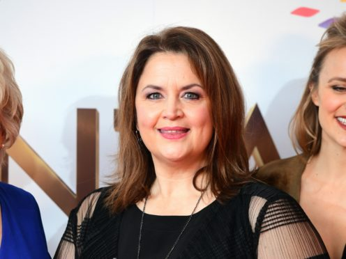 Ruth Jones said her Gavin And Stacey co-writer James Corden is a 'really busy guy' (Ian West/PA)