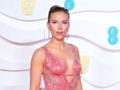 Scarlett Johansson stars in Black Widow (Ian West/PA)