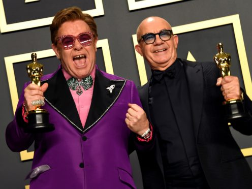 The collection features early collaborations between Elton John and Bernie Taupin (Jennifer Graylock/PA)