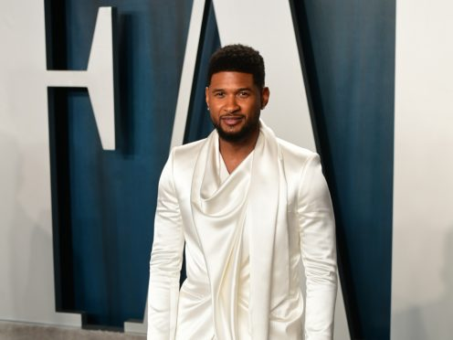 Usher (Ian West/PA)