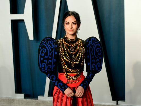 Camila Mendes (Ian West/PA)
