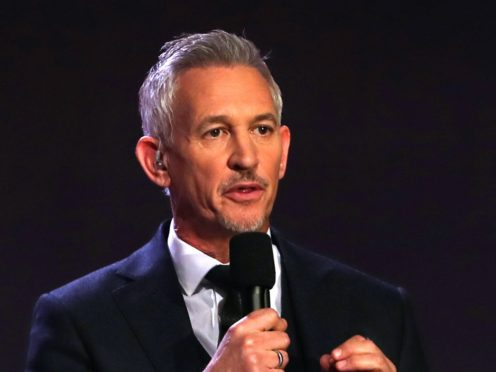 Gary Lineker could top the list of the BBC's top earners again (Jane Barlow/PA)