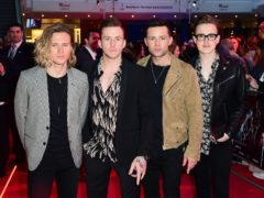 Dougie Poynter, Danny Jones, Harry Judd and Tom Fletcher (Ian West/PA)