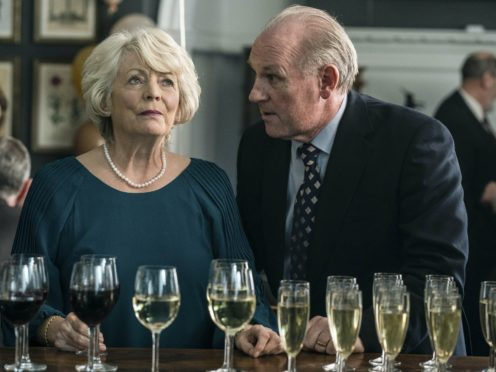 Alison Steadman as Gail and Peter Davison as Henry in Life (BBC)
