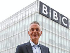 New BBC director-general Tim Davie (Andrew Milligan/PA)