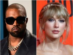 Kanye West has promised to help Taylor Swift acquire control of her master recordings (Ian West/Greg Allen/PA)