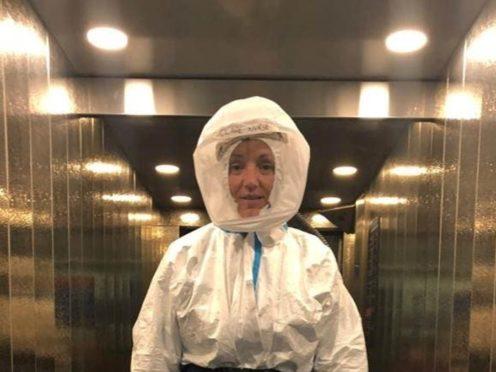 Spacesuit (Hannah Grace Deller/PA)