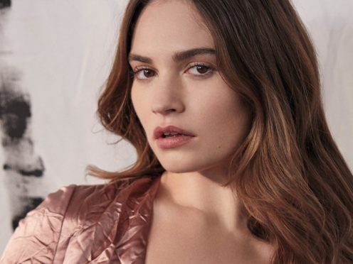 Mamma Mia! star Lily James has revealed she was 'obsessed by boys' growing up (Harper's Bazaar/Agata Pospieszynska/PA)