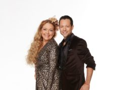 Carole Baskin and her professional partner Pasha Pashkov. made their Dancing With The Stars debut (ABC/Laretta Houston/PA)
