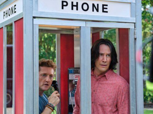 Alex Winter and Keanu Reeves (Warner Bros)