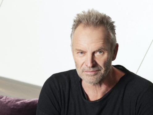 Sting said the duet has a 'simple joy' (Decca/PA)