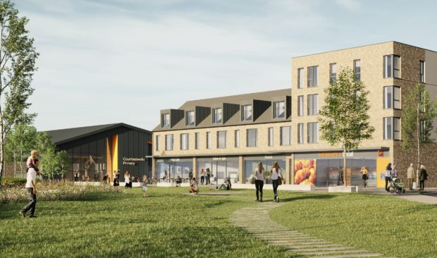 An artist's impression of the new Sainsbury's store in Countesswells