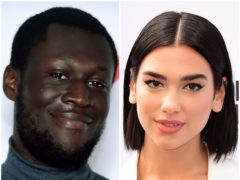 Stormzy, left, and Dua Lipa are shortlisted for this year's Mercury Prize (Ian West/PA)