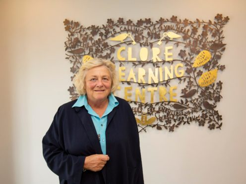Philanthropist Dame Vivien Duffield (Clore Learning Foundation/PA)