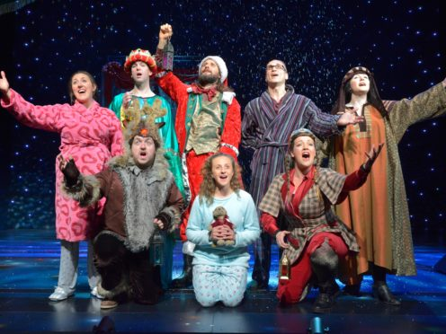 The pantomime is inspired by the series of Horrible Histories children's books by Terry Deary (Birmingham Stage Company/PA)