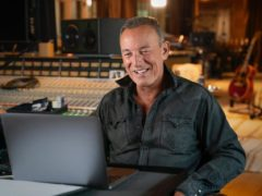 Bruce Springsteen said it is 'painful' not being able to perform his new songs in front of fans (Apple Music/PA)