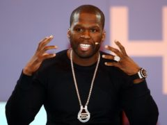 Rapper 50 Cent is backing Donald Trump in the US presidential election (David Jones/PA)