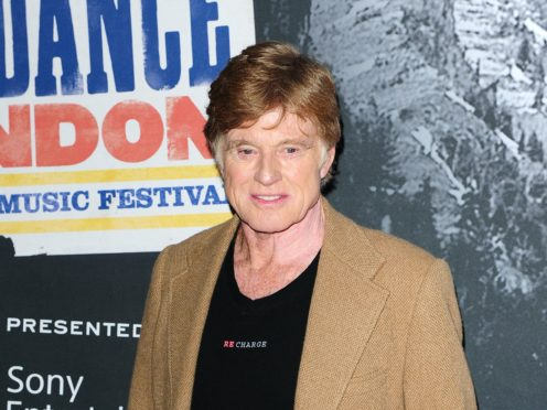 Hollywood actor Robert Redford is in mourning following the death of his son at the age of 58, a representative said (Ian West/PA)