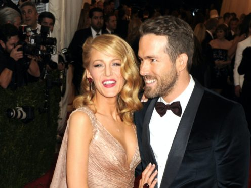 Blake Lively poked fun at Canadian-born husband Ryan Reynolds after he voted in a US presidential election for the first time (Dennis Van Tine/PA)