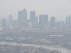 Researchers estimate that around 15% of deaths worldwide from Covid-19 could be attributed to long-term exposure to tiny particles of pollution known as particulate matter or PM2.5 (Nick Ansell/PA)