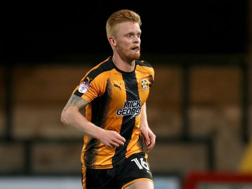 Liam O'Neil is set to miss Cambridge's match against Port Vale (Mike Egerton/PA)