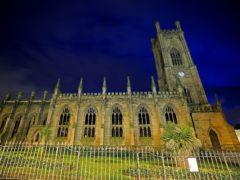 St Luke's Church in Liverpool (Peter Byrne/PA)
