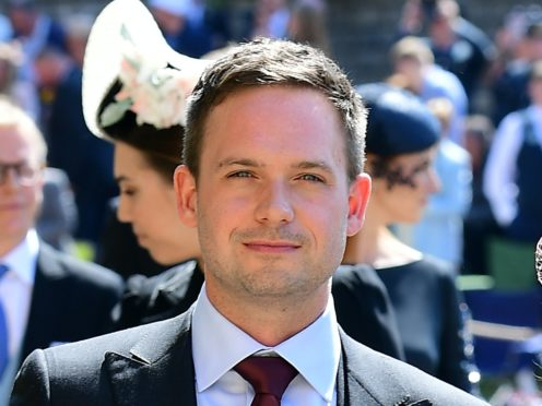 Meghan's former Suits co-star Patrick J Adams has said he is too intimidated to call her (Ian West/PA)