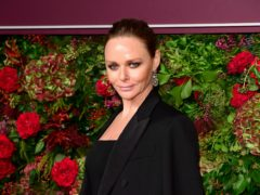 Stella McCartney pursued a career in fashion instead of singing (Ian West/PA)