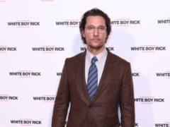 Matthew McConaughey (Isabel Infantes/PA)