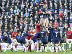 Wales and Scotland will play their final fixture in the delayed 2020 Guinness Six Nations at Llanelli (Ian Rutherford/PA)