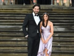 Jamie Jewitt and Camilla Thurlow (Kirsty O'Connor/PA)