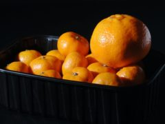 A tangerine has become the latest unintended prop to pop in a news broadcast (John Stillwell/PA)