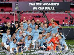Manchester City are Women's FA Cup holders (John Walton/PA)